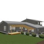 Rendered View from Rear